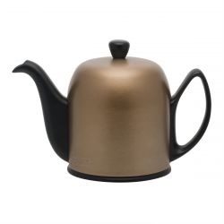 Theiere 4 tasses cloche bronze