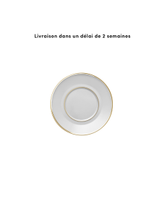 Soucoupe tasse a the ronde 16 cm
