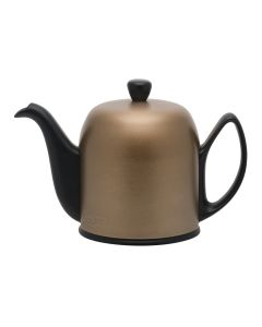 Theiere 6 tasses cloche bronze